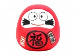Daruma moneybox figurine [ Japan gift ]