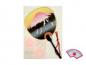 Aromatic postcard - Fuji fan [ Japan gift ]