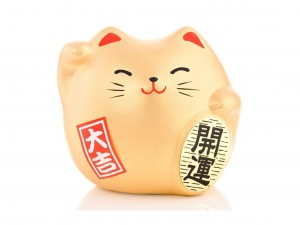 Maneki Neko - Wealth [ Japan gift ]