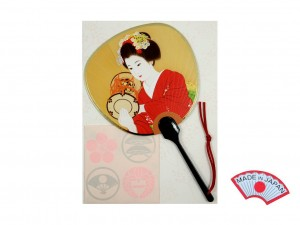 Aromatic postcard - Maiko fan 1 [ Japan gift ]
