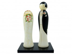 Kokeshi Married Couple [ Japan gift ]