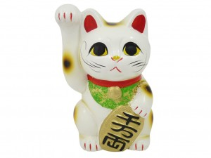 Maneki Neko moneybox Koten - Happiness 16cm [ Japan gift ]
